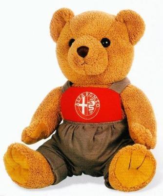Мягкая игрушка Alfa Romeo Teddy