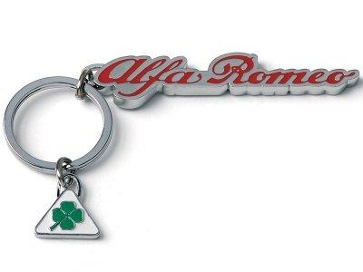 Металлический брелок Alfa Romeo Cloverleaf Keyring
