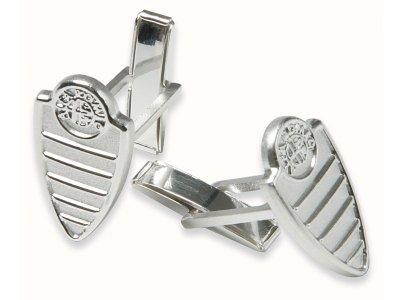 Серебрянные запонки Alfa Romeo Silver Cufflinks