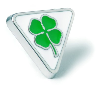 Значок Alfa Romeo Cloverleaf Pin Badge