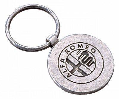 Металлический брелок Alfa Romeo Vintage Metal Keyring